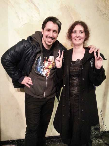 avec Gladys Trueman