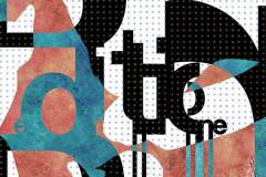Jeu typographique et plastique